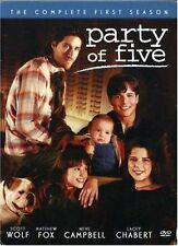 Party of Five - The Complete First Season (DVD, 2004, 5-Disc Set)