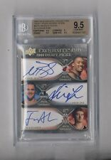 KEVIN LOVE BEASLEY ALEXANDER 2007-08 EXQUISITE TRIPLE AUTO RC #92/99 BGS 9.5 10