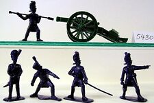 Armies In Plastic 5430 - Nap French Old Guard Artillery Figures-Wargaming kit