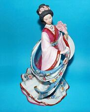 Danbury Mint figurine ornament 'Plum Blossom Princess'  By Lena Liu 1st quality