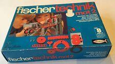 Vintage Fischertechnik mot2 Construction Set. Mint condition.