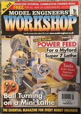 Modeling Engineers Workshop Power Feed For A Myford Feb 2015 FREE SHIPPING!