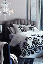 NWT Anthropologie Samirah Embroidered Queev Duvet Cover *RARE SOLD OUT*