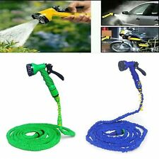 15M water pipe Bike Wash Gardening Multifunctional Water Spray Jet Gun Hose Pipe