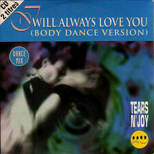 ★☆★ CD SINGLE TEARS N'JOY - Dolly PARTON I will always love you (Body dance) ★☆★