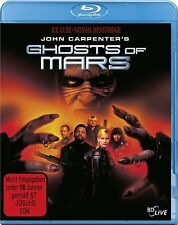 BLU-RAY GHOSTS OF MARS - UNCUT - JOHN CARPENTER - ICE CUBE + NATASHA HENSTRIDGE