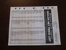 94  SNAP-ON Tools  Dealer Net Price List December 5 1994  vintage collectable