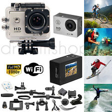 ACTION CAMERA WATERPROOF SPORT FULL HD 1080P GOPRO STYLE ARGENT