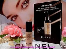 Nc5# CHANEL Lift Lumiere Firming Smoothing Fluid Makeup #20 CLAIR ◆2.5ml◆ F/SHIP