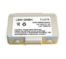 Battery for Imet Remote control BE5000 Wave S, Wave L, AS037 2,4 V 2100 mAh NiMh