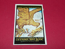 259 CHAMONIX 1924 HIVER PANINI OLYMPIA 1896 - 1972 JEUX OLYMPIQUES OLYMPIC GAMES