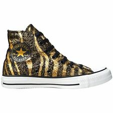CONVERSE ALL STAR CHUCKS SCHUHE EU 40 UK 7 GOLD BLACK LIMITED EDITION LEOPARD