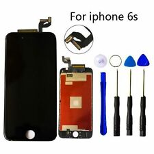 "For IPhone 6S 4.7"" BLACK LCD 3D Digitizer Screen Assembly Replacement Frame USA"