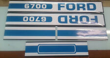 Ford 6700 Hood Decals