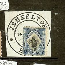 NORTH BORNEO  (P2907B) 12C BIRD SG173 DOUBLE RING JESSELTON VFU