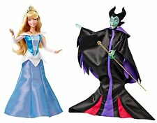 Disney Signature Collection Sleeping Beauty and Maleficent Doll (2-Pack), New