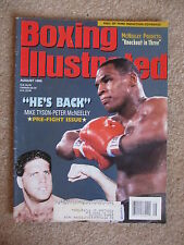 AUGUST 1995 BOXING ILLUSTRATED  MAGAZINE TYSON McNEELEY COVER #2