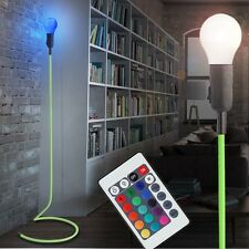 RGB LED Retro Standing Lamp REMOTE CONTROL Colour chaning Posture Lights