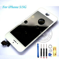 For White iPhone 5 replacement  LCD Touch Screen Digitizer Assembly Original OEM