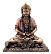 "8"" Hanuman Hindu God of Strength Statue Sculpture Hinduism Deity Decor"