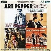 ART PEPPER - FOUR CLASSIC ALBUMS (The Return Of /Modern Art/ Meets (DOUBLE CD)