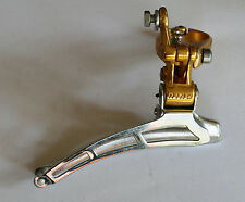 Cambio Rino Front Derailleur Gold Colour Clamp On 28,6mm - NOS