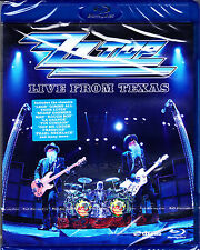 ZZ TOP live from texas + bonus  Blu-ray NEU OVP/Sealed