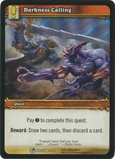 WORLD OF WARCRAFT WOW TCG RARE PROMO FOIL : DARKNESS CALLING