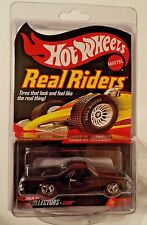 HOT WHEELS RLC REAL RIDERS SERIES 1980 EL CAMINO ON RED LINE REAL RIDERS