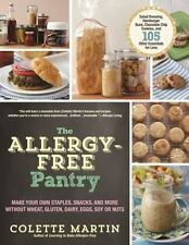 The Allergy-Free Pantry by Colette Martin Make Your Own Staples Cookbook WT72069