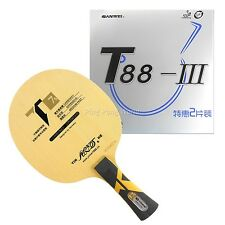 Pro Combo Racket Galaxy T7s Blade with 2x Sanwei T88-III Rubbers