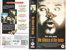 THE SILENCE OF THE HAMS VHS PAL DOM DELUISE,BILLY ZANE,MEL BROOKS RARE NEW 90S