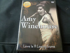 Amy Winehouse - Love Is A Losing Game (NEW DVD) BACK TO BLACK REHAB VALERIE