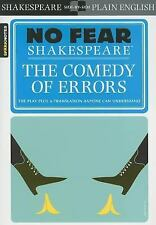 The Comedy of Errors (No Fear Shakespeare), SparkNotes, 1411404378, Book, Good