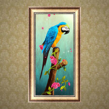 5D Parrot Diamond Embroidery Painting DIY Cross Stitch Kit Home Decor