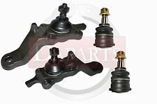 TOYOTA SEQUOIA TUNDRA Front Suspension 4 Parts Upper Lower Ball Joints Arms Ends