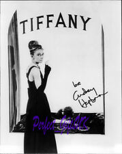 AUDREY HEPBURN BREAKFAST AT TIFFANYS SIGNED AUTOGRAPHED 10X8 PP REPRO PHOTO N4