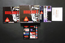 BIO HAZARD 2 resident Evil + Spinecard PlayStation PS1 JAPAN Good/Very.Good