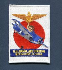 NAS NAVAL AIR STATION MELBOURNE FL US NAVY Base Squadron Jacket Patch