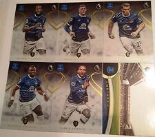 2016-17 TOPPS PREMIER GOLD SOCCER EVERTON TEAM SET + GOODISON PARK STADIUM CARD