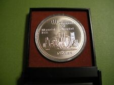 1973 Canada .925 Silver 10 Dollars - 1976 Montreal Olympics