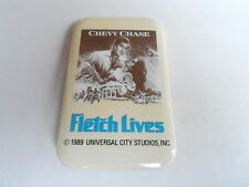 VINTAGE PROMO PINBACK BUTTON #108-167 - FLETCH LIVES movie