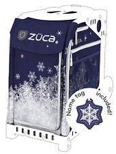 ZUCA Sports Insert Bag - SNOWY NIGHT - Free Name Tag -  NEW - NO FRAME INCLUDED