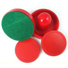 LS01  Mini Air Hockey 65mm Goalies 50mm Pucks Felt Pusher Set CN Seller US01 ET