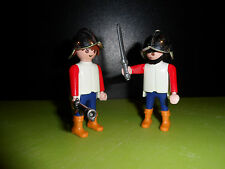 PLAYMOBIL - Bodyguards cavalier rider chevalier Ritter knight figure (J236)