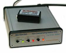 Non-Oversampling NOS DAC TDA1543 DIR9001 SPDIF Coax Optical dual 9V NiMH w/charg