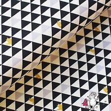 Canvas Trefle Kokka schwarz Dreiecke Bären