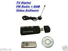 USB DVB-T Stick Digital TV HDTV Receiver Tuner+RADIO PC Mobiler TV W8.1/10 VISTA