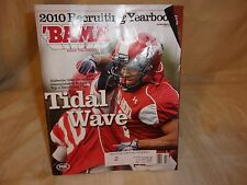 BAMA 2010 RECRUITING YEARBOOK - TIDAL WAVE - BAMA INSIDE THE CRIMSON TIDE