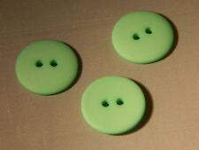 25 NEW 3/4 INCH MINT GREEN DULL/MATTE FINISH BUTTONS # 261CD29 - 20